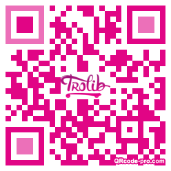 QR code with logo 18620