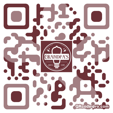 QR code with logo 18KH0