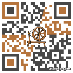 QR code with logo 18M60