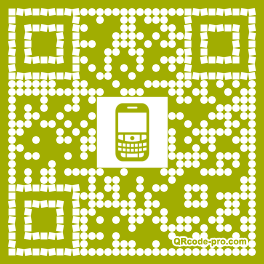 QR code with logo 18h60