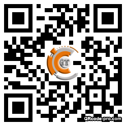 QR code with logo 18wK0