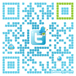 QR code with logo 196C0