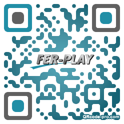 QR code with logo 19FM0
