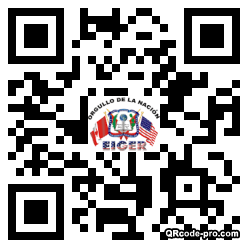 QR code with logo 19S20