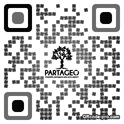 QR code with logo 19Vs0