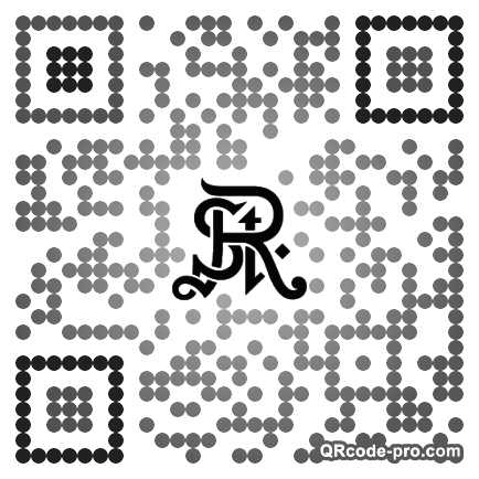 QR code with logo 19n40