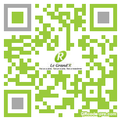 QR code with logo 19nD0