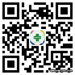 QR code with logo 19t80