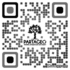 QR code with logo 19up0