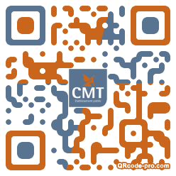 QR code with logo 1A3p0