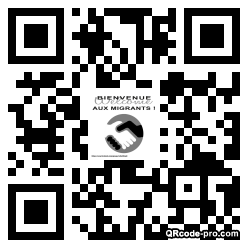 QR code with logo 1A780