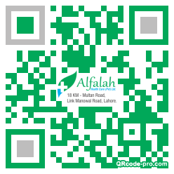 QR code with logo 1AA90