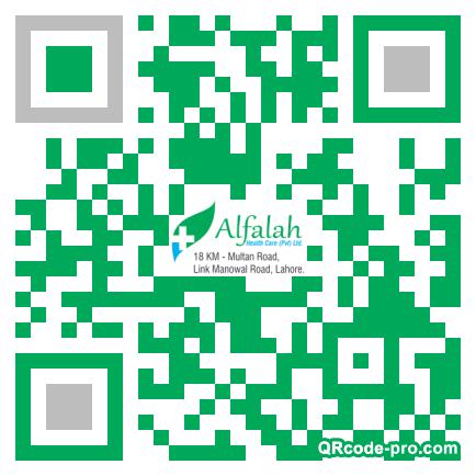 QR Code Design 1AA90