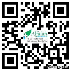 QR code with logo 1AAg0