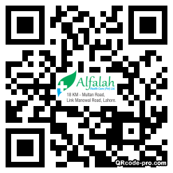 QR code with logo 1AAj0