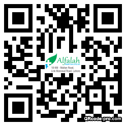 QR code with logo 1AAm0