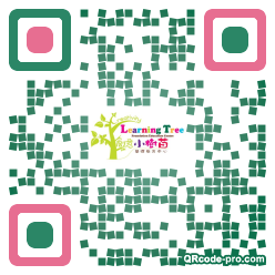QR code with logo 1AB90