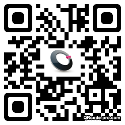 QR code with logo 1ABO0