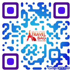 QR code with logo 1ABe0