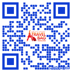 QR code with logo 1ABl0