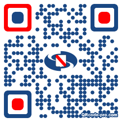 QR code with logo 1ADe0