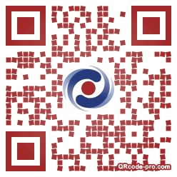QR code with logo 1AFR0
