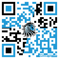 QR code with logo 1ANr0