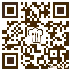 QR code with logo 1AO10