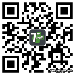 QR code with logo 1AS00