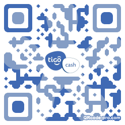 QR code with logo 1AVP0