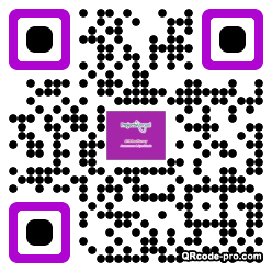 QR code with logo 1AW80