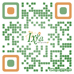 QR code with logo 1Adx0