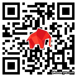 QR code with logo 1Ahv0