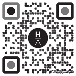 QR code with logo 1AlE0