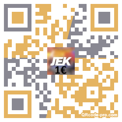 QR code with logo 1An50