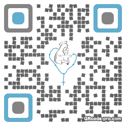 QR code with logo 1AtN0