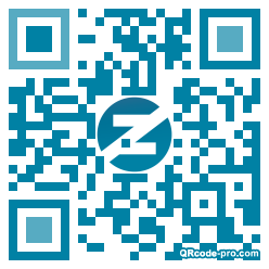 QR code with logo 1Aud0
