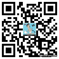 QR code with logo 1AzD0