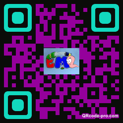 QR code with logo 1AzS0
