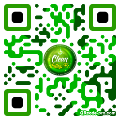 QR code with logo 1B1t0