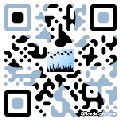 QR code with logo 1B4X0
