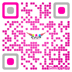 QR code with logo 1BC70