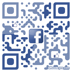 QR code with logo 1BCx0