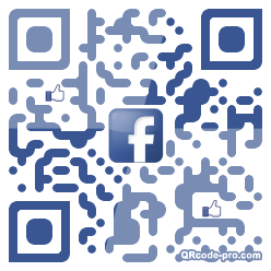 QR code with logo 1BDY0