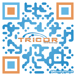 QR code with logo 1BE10