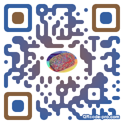 QR code with logo 1BEh0