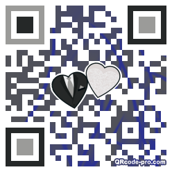 QR code with logo 1BFS0