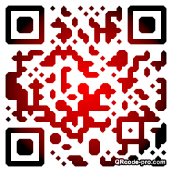 QR code with logo 1BH50