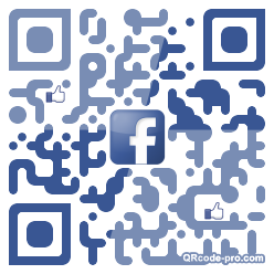 QR code with logo 1BJ20