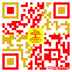 QR code with logo 1BJ40